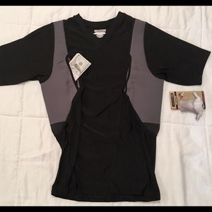 5.11 Concealment Compression Shirt 2 Hidden Pocket